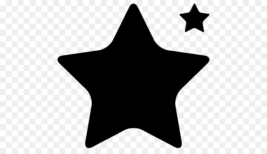 Silhouette Five Pointed Star Clip Art