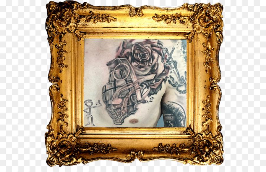 Picture Frames Gilding Clip art - skull 3d png download - 1080*675 ...