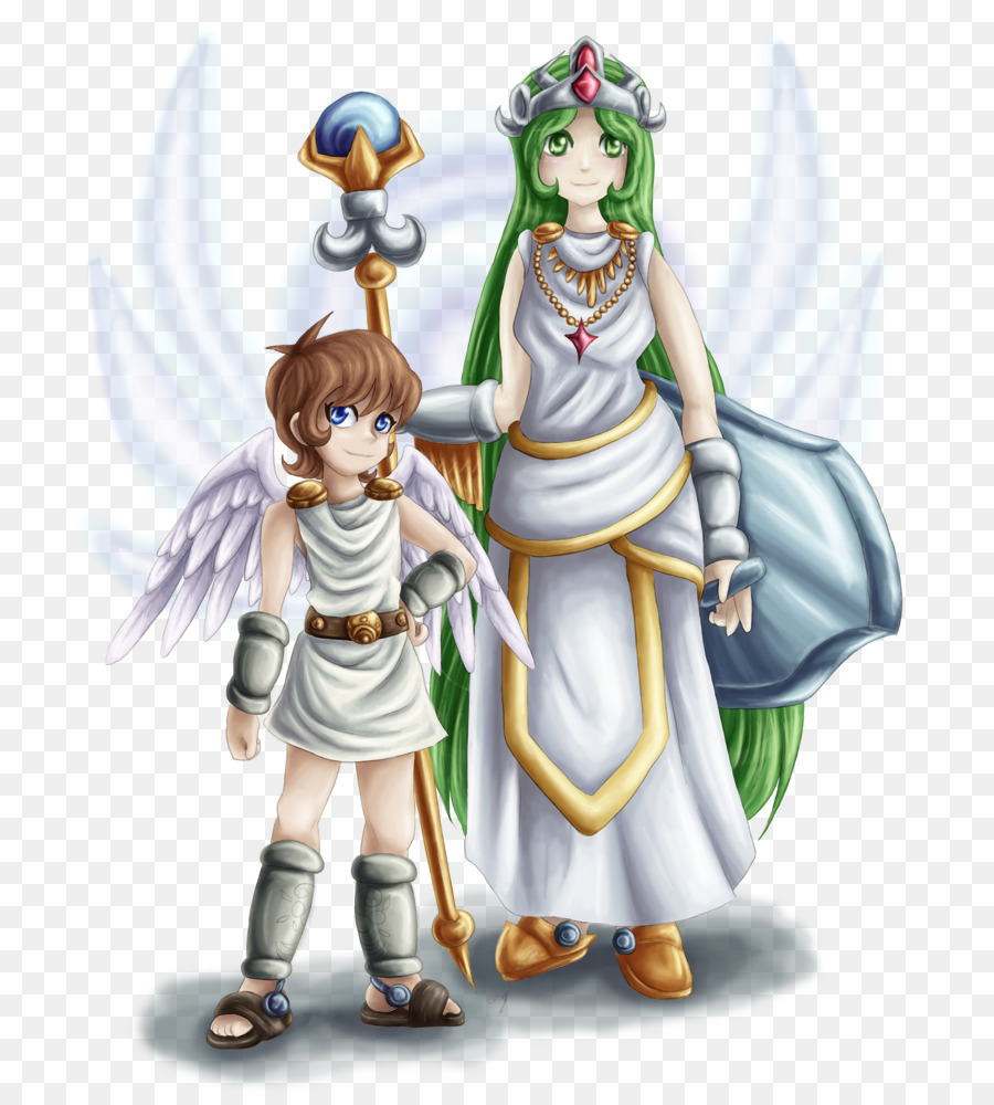 Kid Icarus Uprising Palutena Pit Super Smash Bros