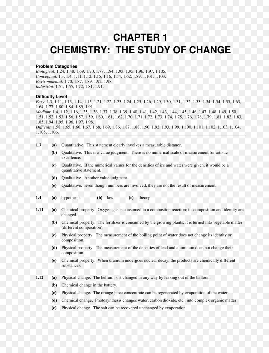 Chemistry Molar mass Worksheet Equation solving Matter - science png ...