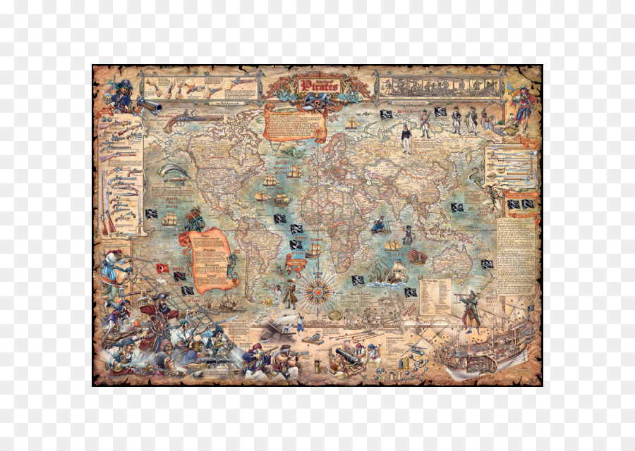 Jigsaw puzzles puzzle pirates golden age of piracy world puzzle jigsaw puzzles puzzle pirates golden age of piracy world puzzle championship world map gumiabroncs Image collections