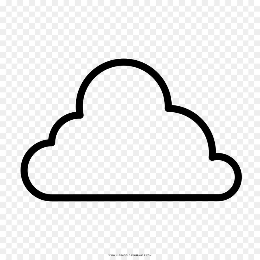 Drawing Cloud Coloring book Rain - Cloud png download - 1000*1000 ...