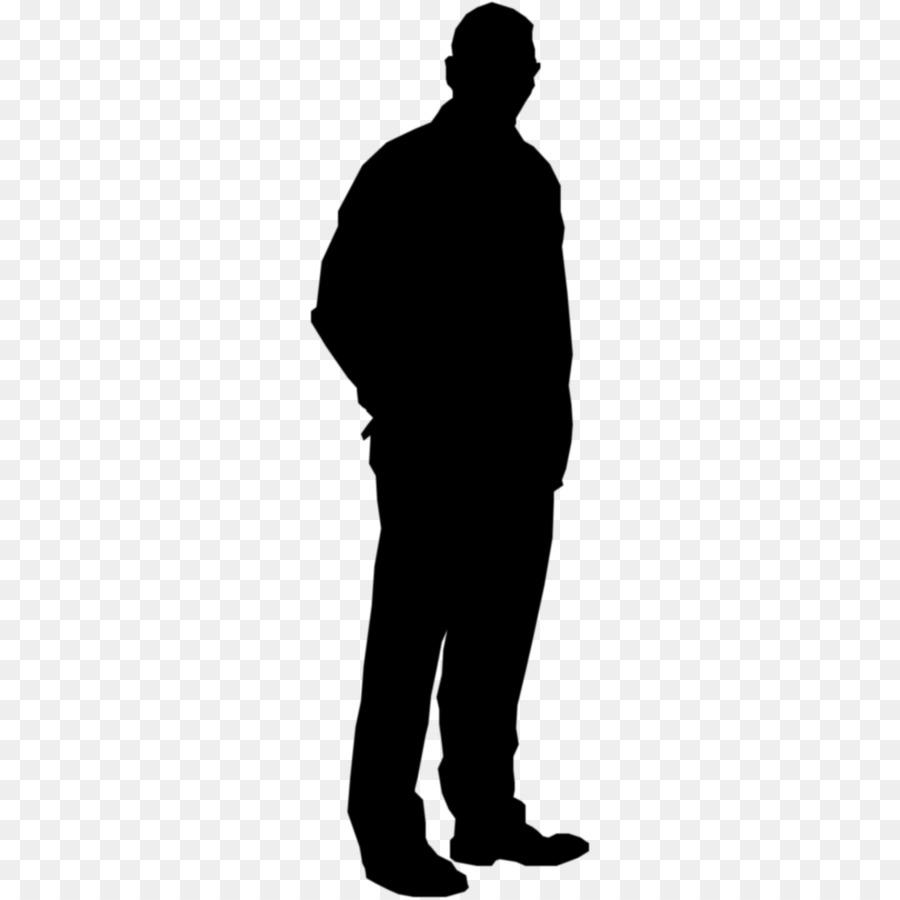standing businessman silhouette cartoon royalty free - 900×900