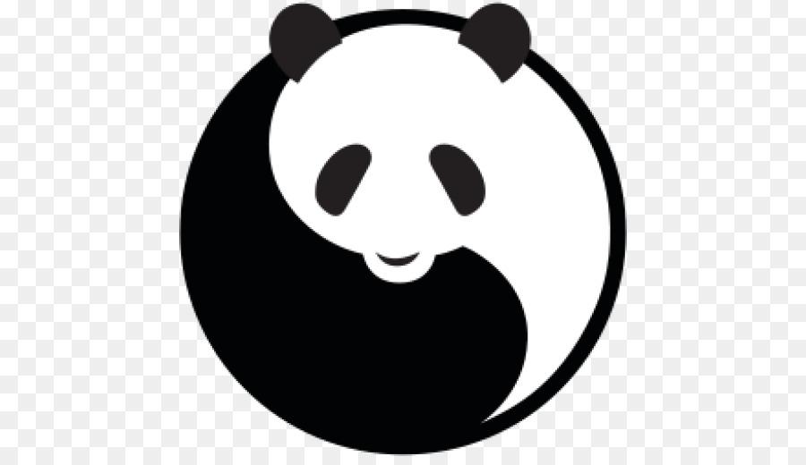 What logo is a panda bear