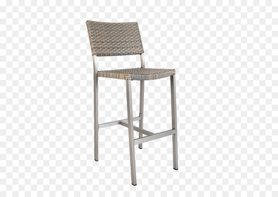 Tavolo bar sgabello sedile di vimini della resina ristorante all