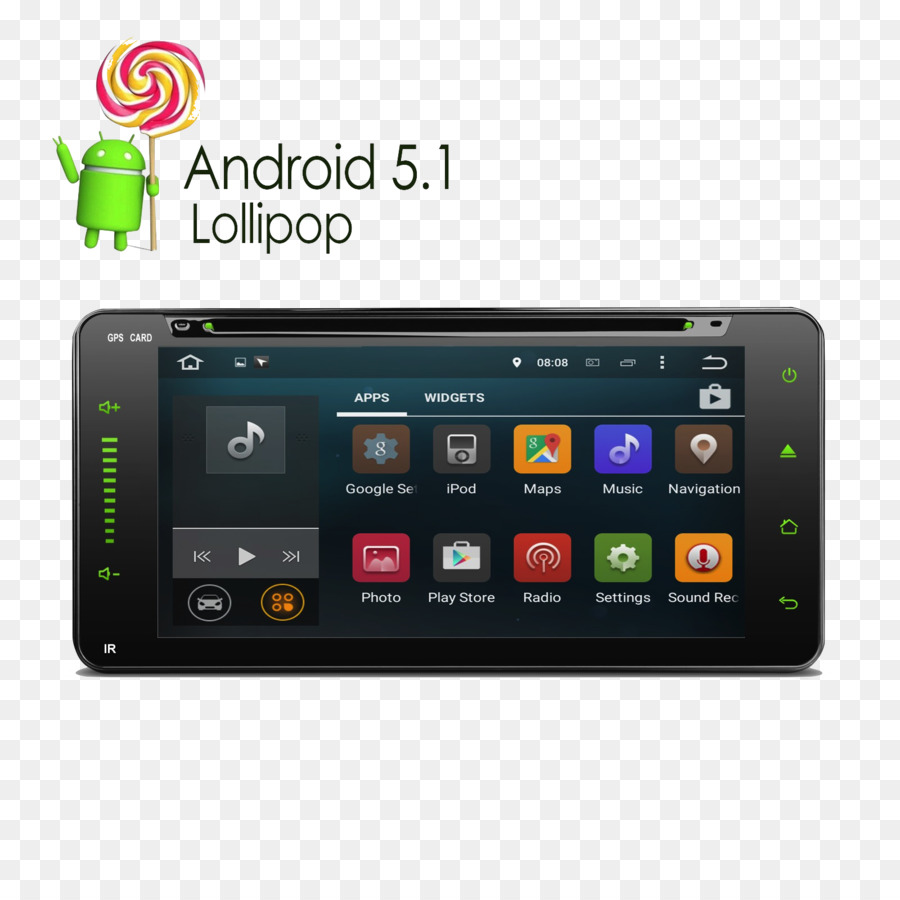 GPS Navigation Systems Car Vehicle audio Android DVD player - car