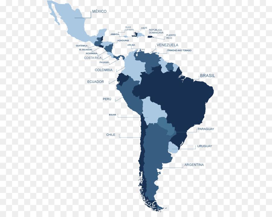 Latin America South America United States Caribbean Map - united ...