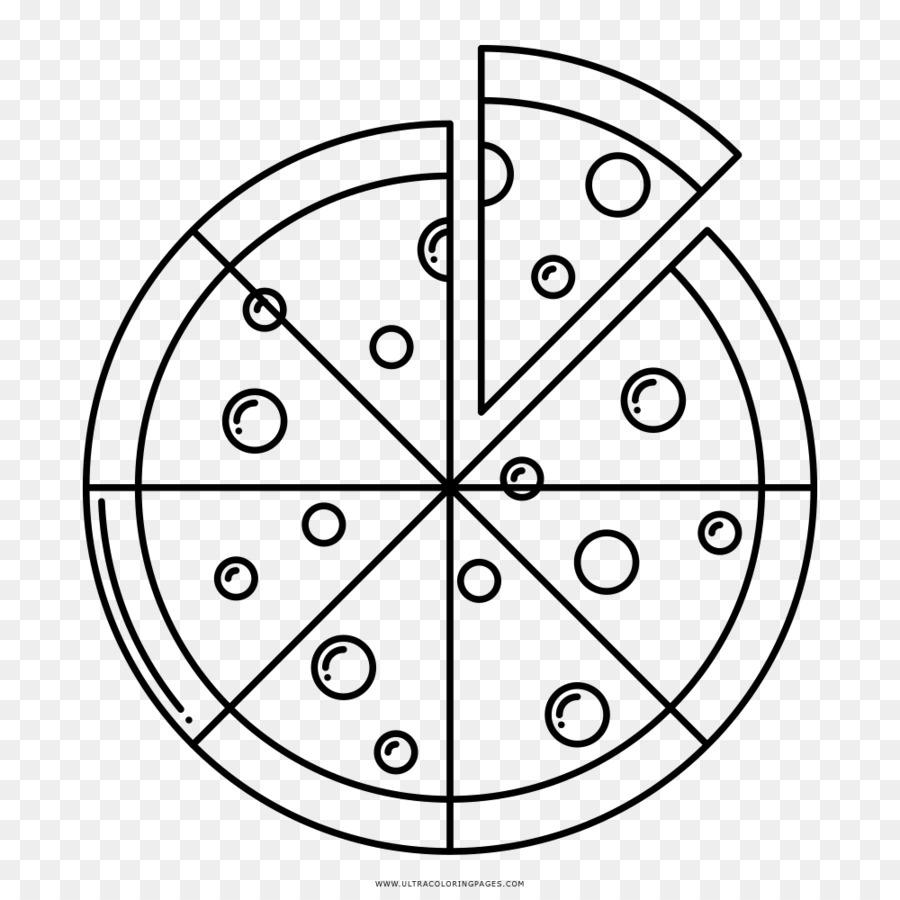 Mandala Buku Mewarnai Anak Anak Lukisan Halaman Pizza Poster