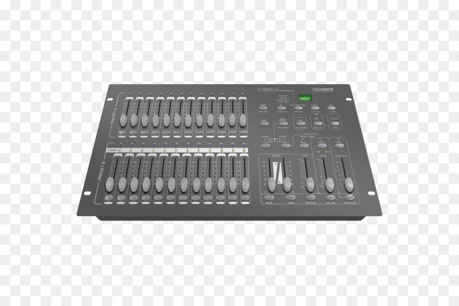 Table Audio Mixers Lighting Mackie Disc Jockey Png
