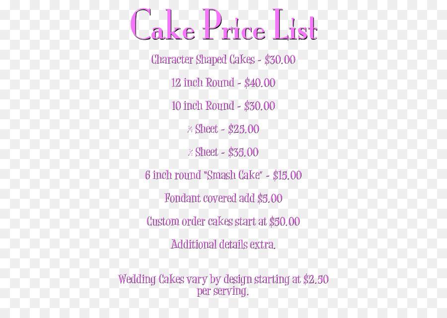 Wedding Cake Bakery Birthday Cake Cupcake Price List