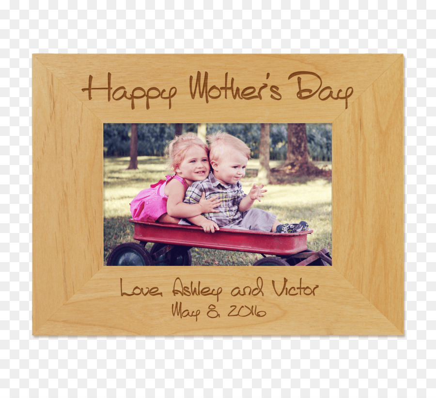 Picture Frames Mother\'s Day Engraving - mom frame png download - 801 ...