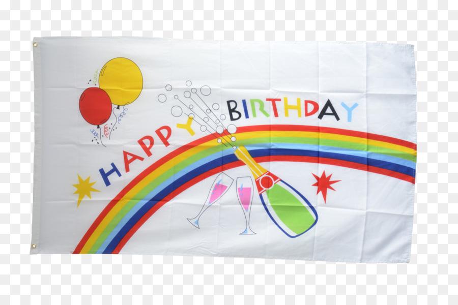 Rainbow Flag Fahne Birthday Cake
