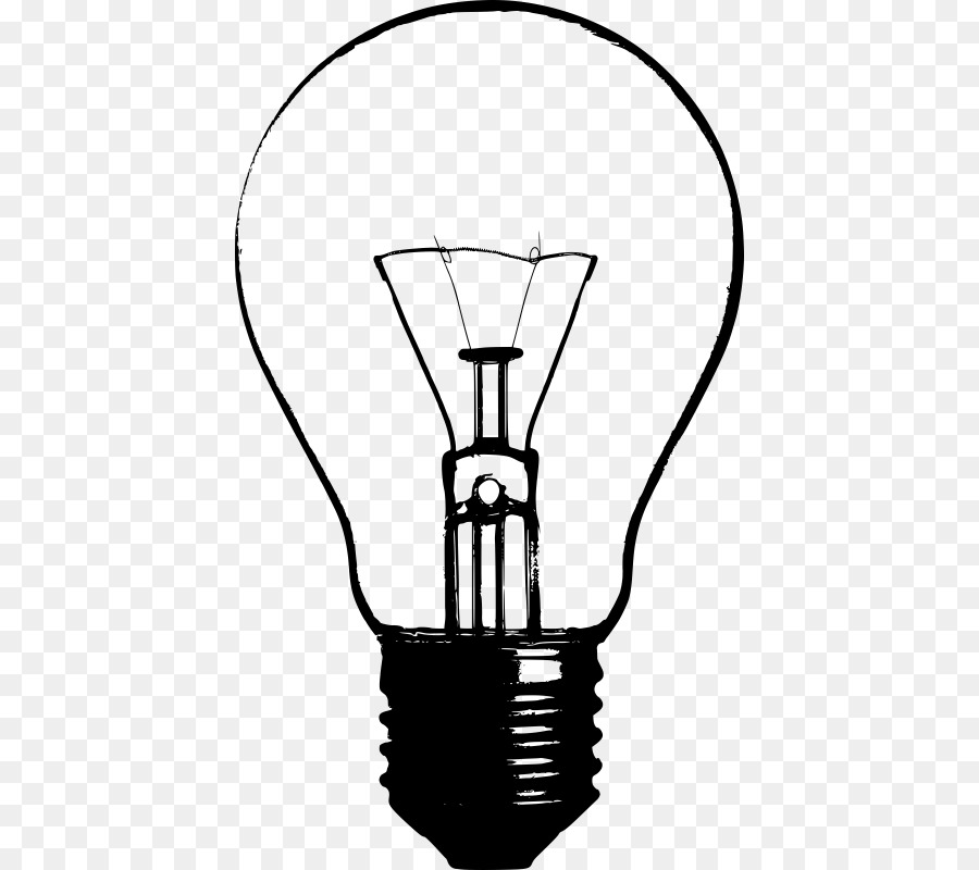 Incandescent Light Bulb Lamp Clip Art