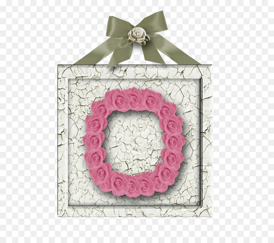 Scrapbooking Letter Picture Frames Alphabet - rose alphabet png ...