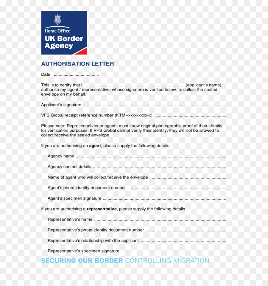 United Kingdom Résumé Authorization Cover Letter UK Border Agency   United  Kingdom