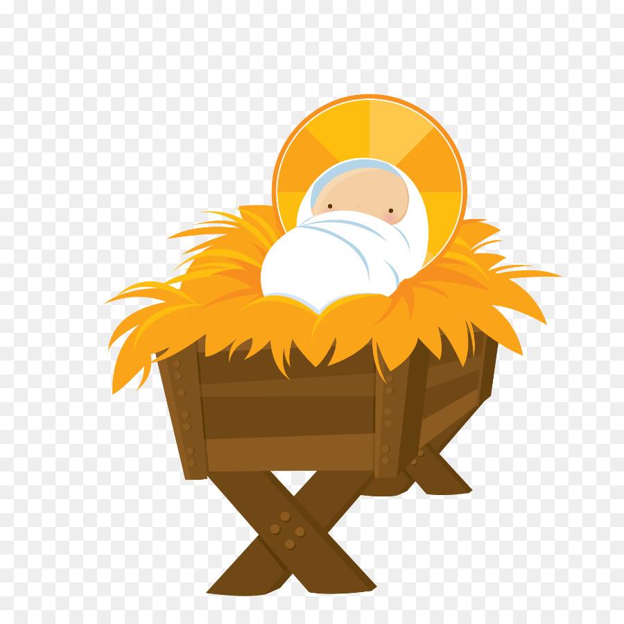 Gesù bambino del presepe clipart