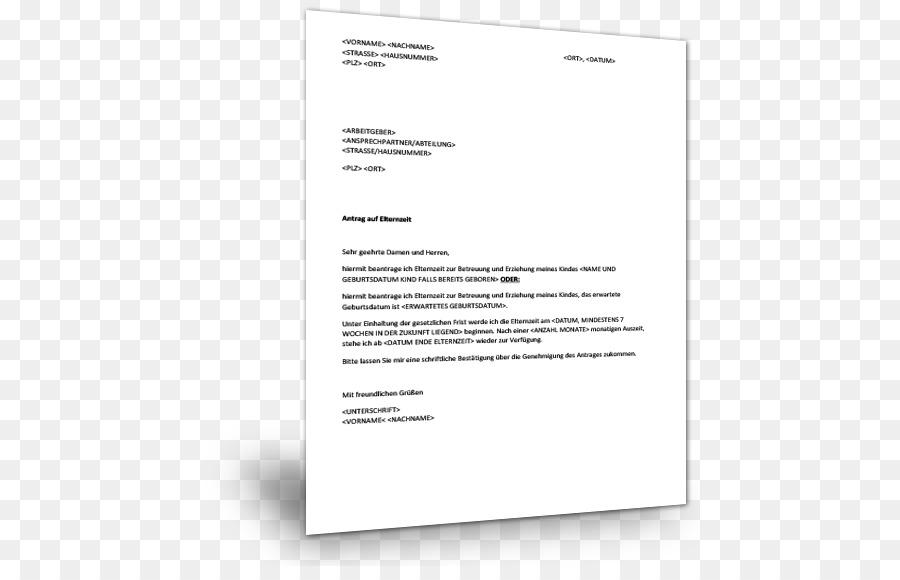 document line brand line - Besttigung Elternzeit Arbeitgeber Muster