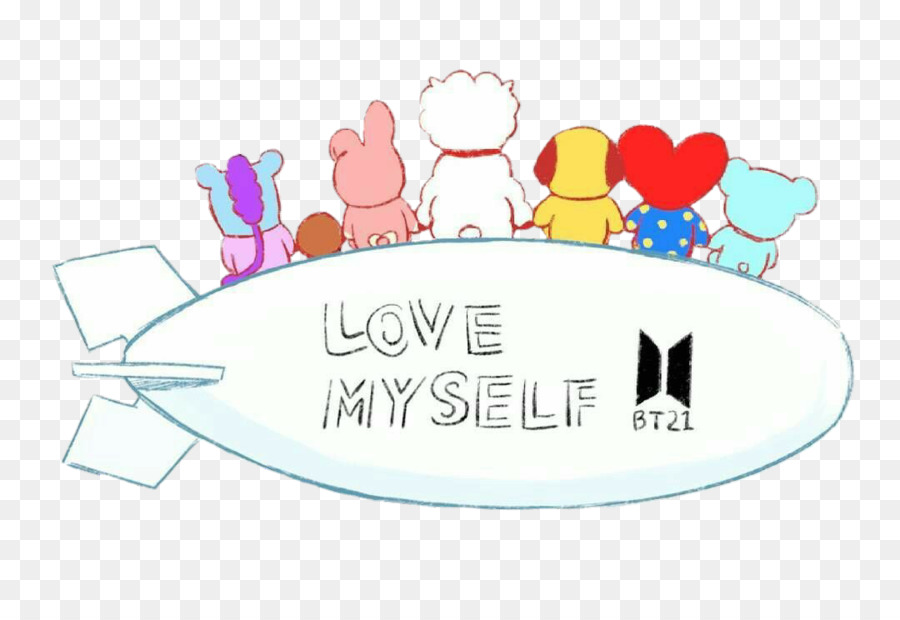 Bts Love Yourself Her Desktop Wallpaper Drawing K Pop Chimmy Png