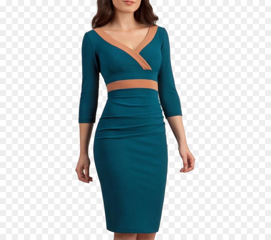Vestido azul t
