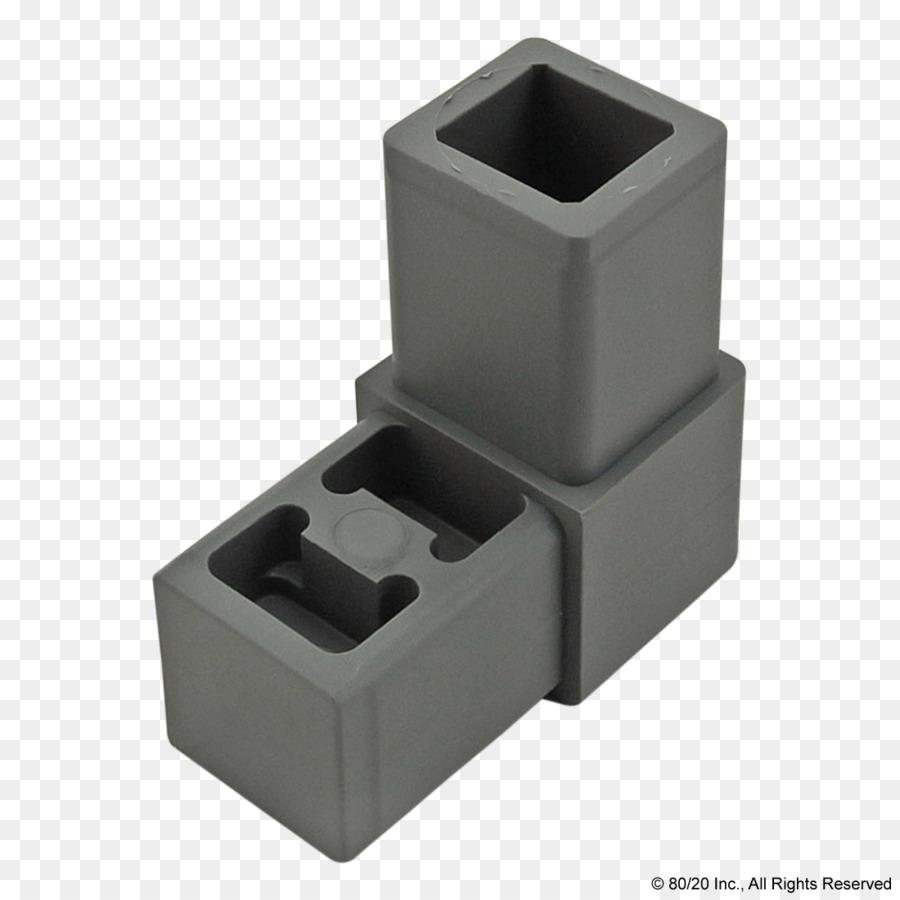 80/20 Encuadre T-ranura de la tuerca de plástico - edificio png ...