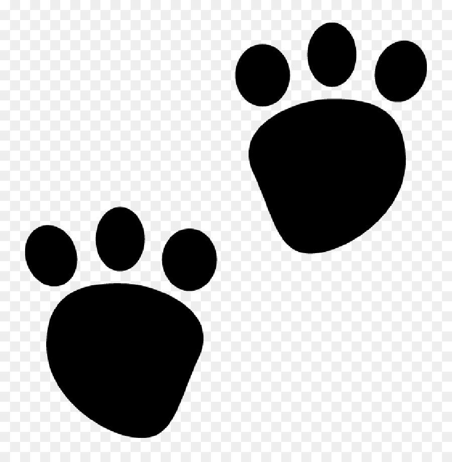 a pata do cão clip art cachorro transparente preto preto e