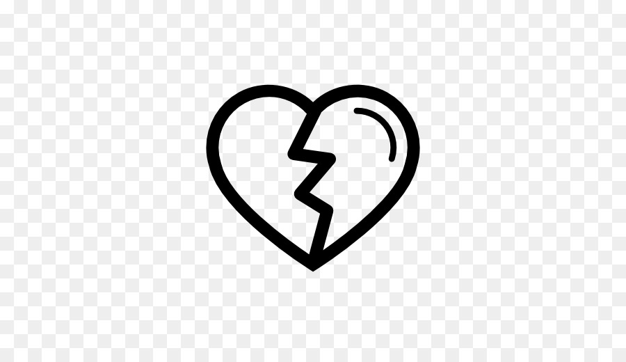 Computer Icons Heart Symbol Icon Design Broken Heart Png Download