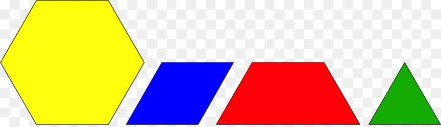 Pattern Blocks Rhombus Hexagon Yellow Triangle triangle pattern Cool Pattern Blocks