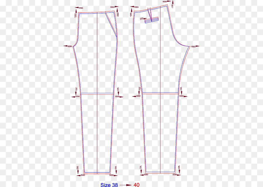 Pantalones De Costura, Ropa De Vestir Patrón - patrón de costura png ...