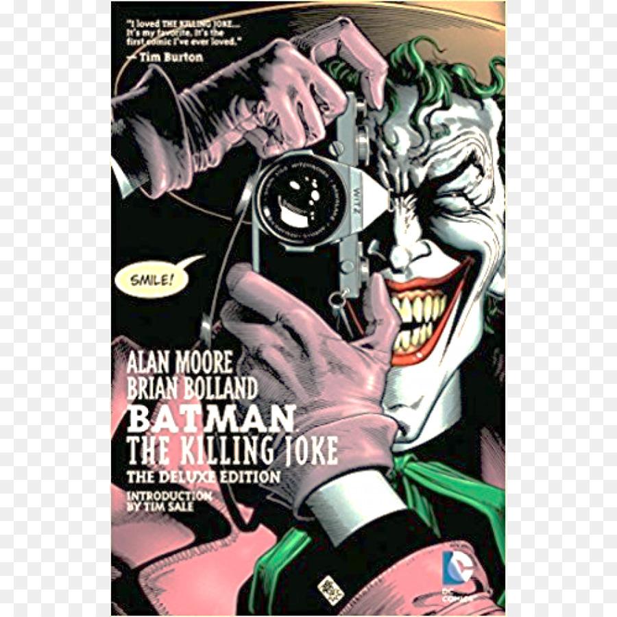 Joker batman: the killing joke dc comics joker png download.