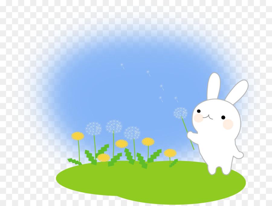 Hare Easter Bunny Desktop Wallpaper Clip Art