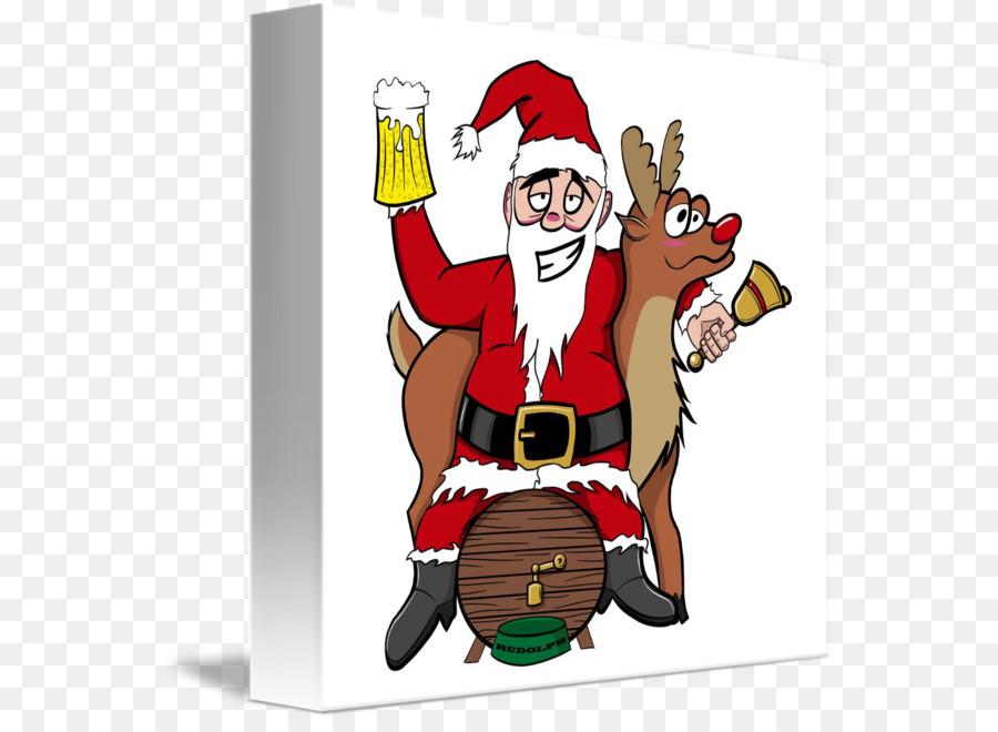 Babbo Natale Ubriaco.Saluto Carte Di Nota Saluto Carta Di Compleanno Di Natale Santa