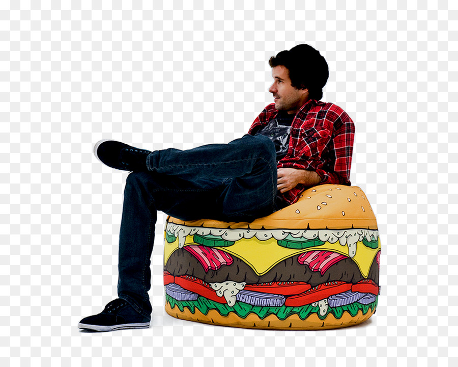 Hamburger Bean Bag Chairs Cheeseburger   Chair