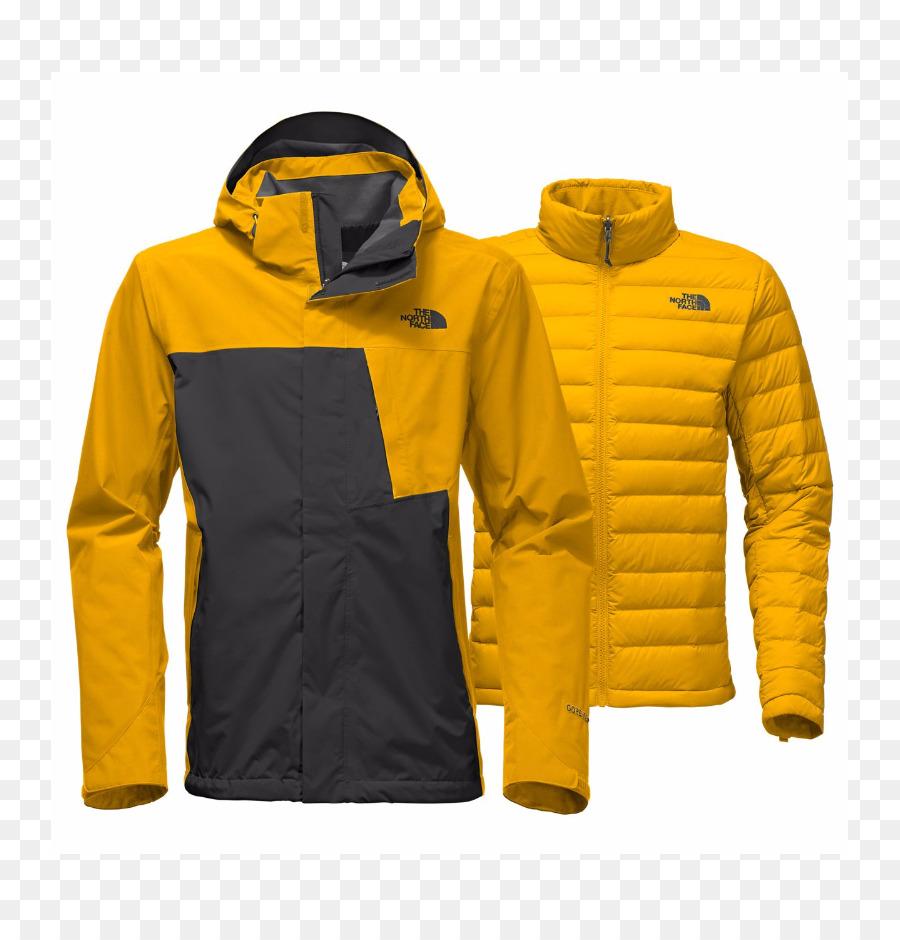 abrigo north face amarillo