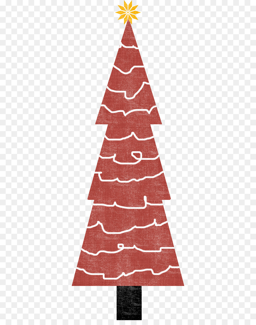Christmas tree Paper Wedding invitation - magic tree png download ...