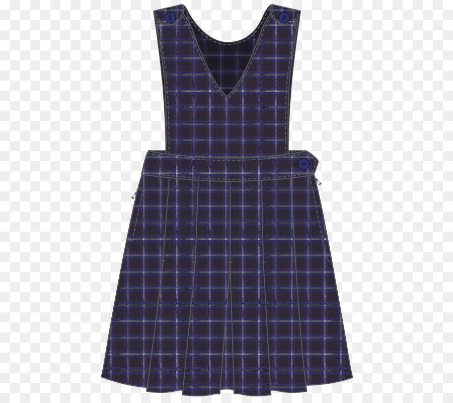 Tartan Tunic Dress Clothing Sleeve - dress Formatos De Archivo De ...