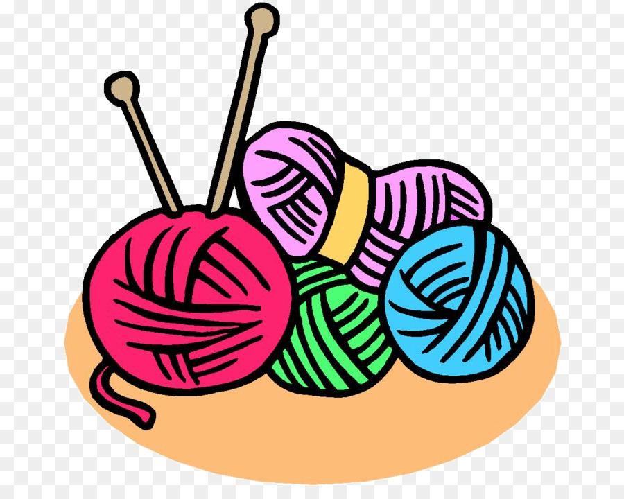 knitting needle needlework clip art yarn ball png download 720