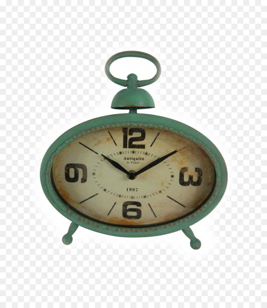 Alarm Clocks Vintage Glass   Table Clock
