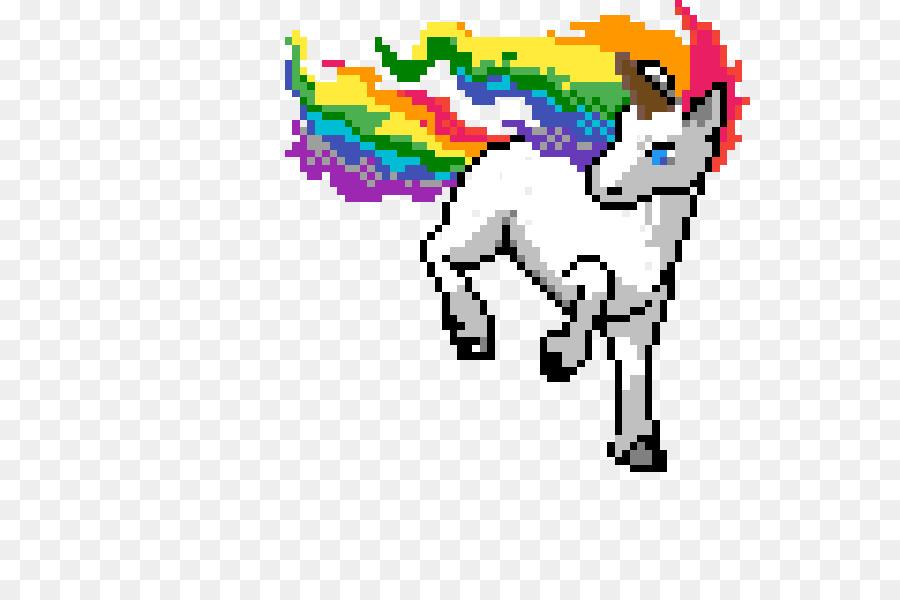 Punto de cruz Unicornio: el Color Por el Número de Pixel Art ...