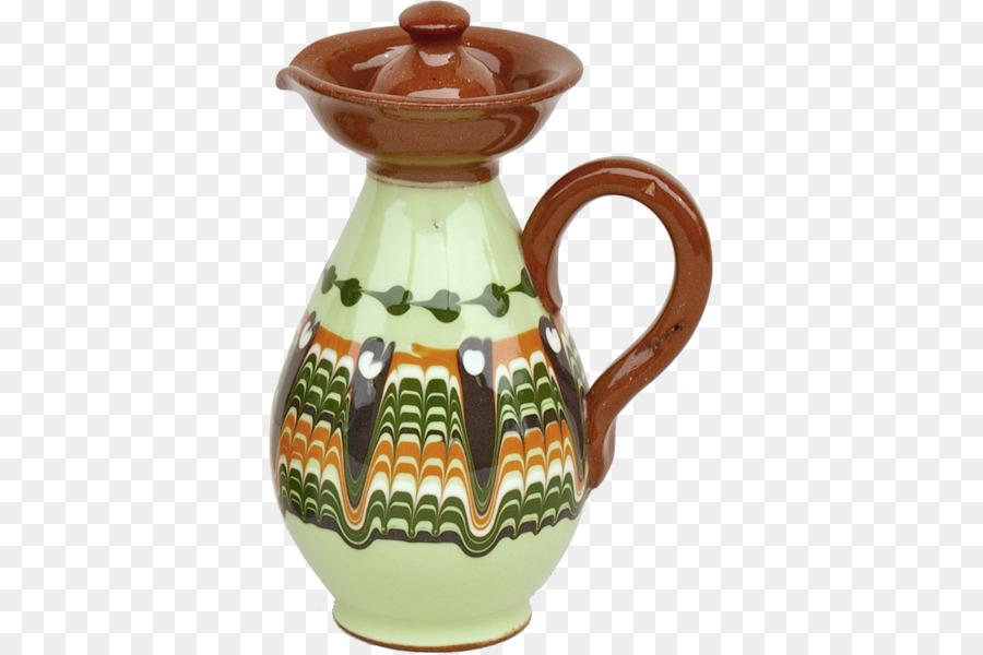 Jug Troyan Pottery Ceramic Pitcher Vase Png Download 600600
