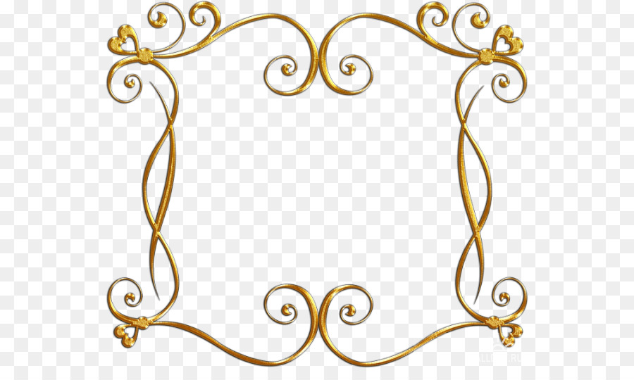 Picture Frames Gold Presentation Clip Art Others Png Download