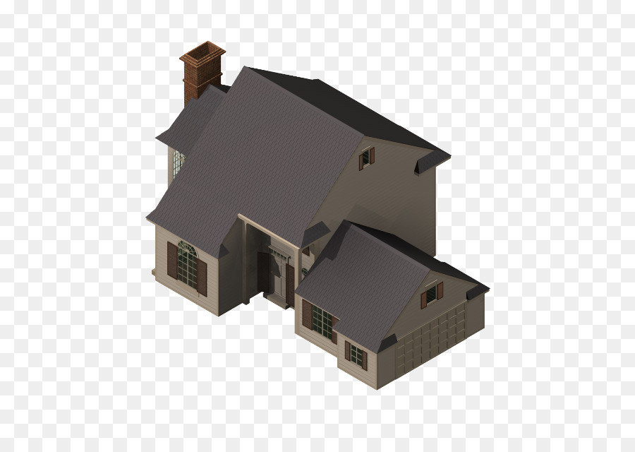 3d model home png download - 718*638 - Free Transparent