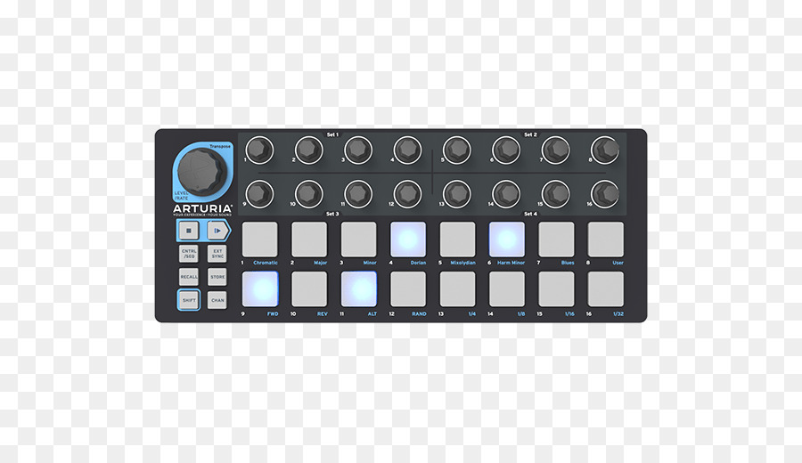 MIDI Controllers Ableton Live Akai - musical instruments png