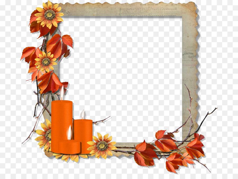 Picture Frames Digital Scrapbooking Paper Clip Art Thanksgiving
