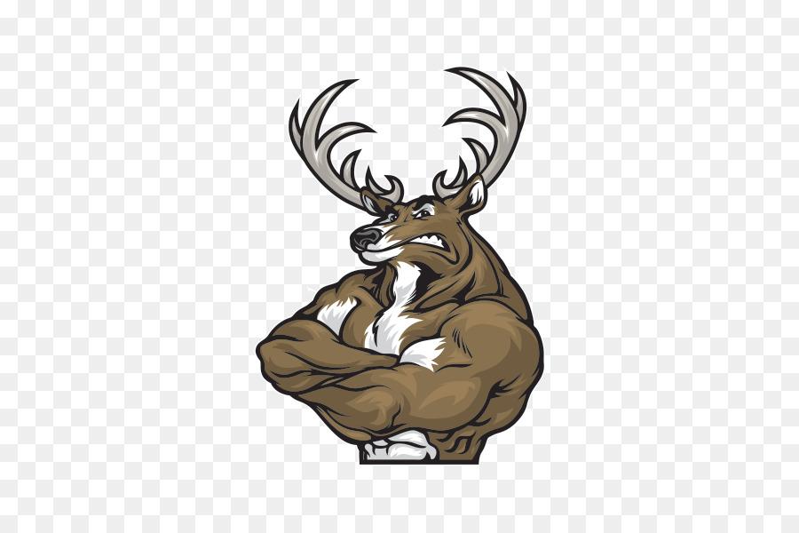 Reindeer Elk Roe deer Muscle - Reindeer Formatos De Archivo De ...