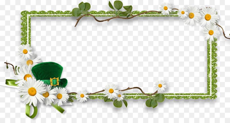 Saint Patricks Day Picture Frames Scrapbooking Clip Art Saint