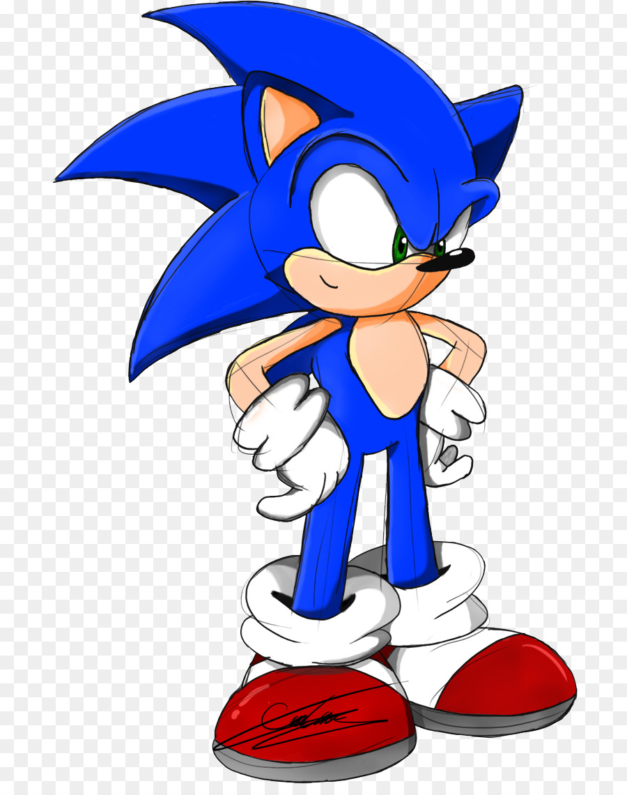 Sonic The Hedgehog png download - 763*1124 - Free