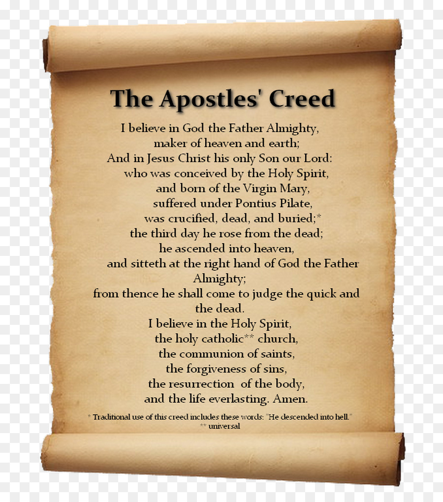 Who wrote the Creed and why it is not a prayer