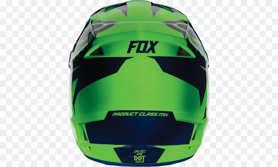 Motorcycle Helmets Fox Racing Motocross Casque Moto Png