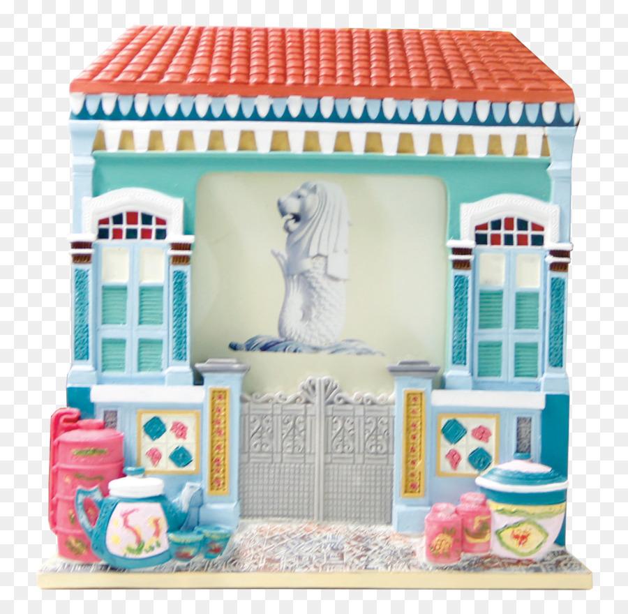 Casa de bonecas - Batik quadro - Transparente Brinquedo