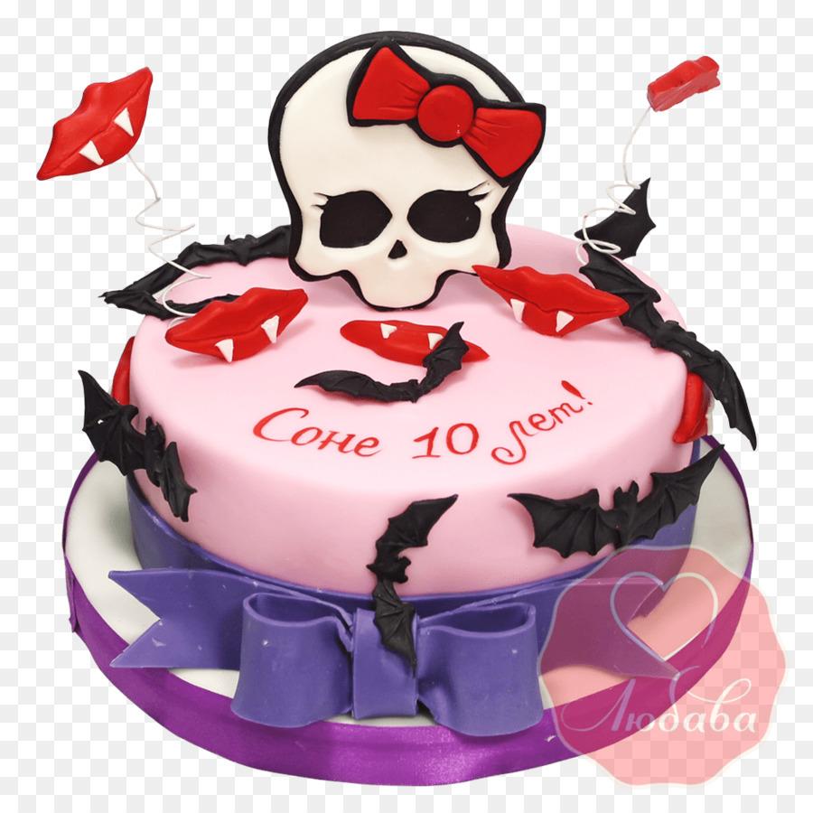 Birthday Cake Torte Sugar Cake Cake Decorating Monster High Cake